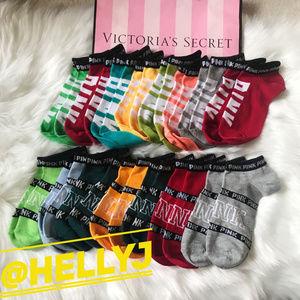 15 pairs for $27 victoria secret love pink socks
